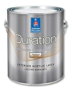 Краска Duration Exterior Acrylic Latex белая матовая